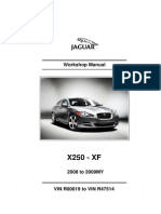 2008 Xf Workshop Manual