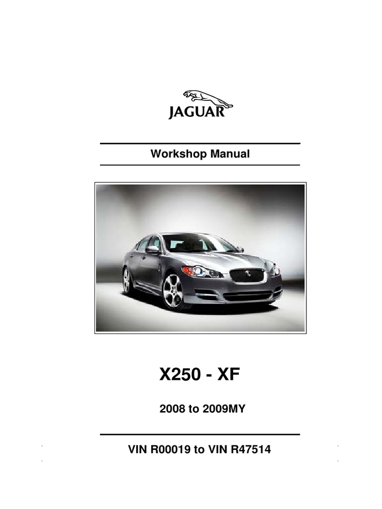 2008 Xf Workshop Manual Jaguar Xj6 Charging System Circuit Diagram