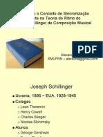Estendendo o conceito de sincronização presente na Teoria do Ritmo do Sistema Schillinger de Composição Musical,
