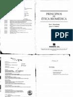 PRINCIPIOS DE ÉTICA BIOMÉDICA - Beauchamp