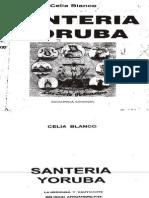 Santeria Celia Blanco