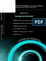Catalogo de Maquinarias