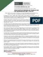 MINISTRO DEL INTERIOR SOSTUVO REUNIÓN DE TRABAJO CON LAS JUNTAS VECINALES DE LIMA Y CALLAO.doc