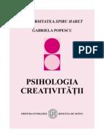 psihologia creativitatii