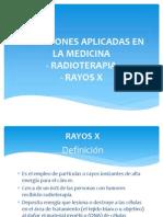 Radiaciones Aplicadas en La Medicina