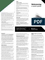 Referencing Leaflet 2009