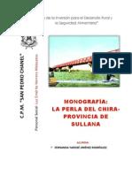 Monografia La Provincia de Sullana