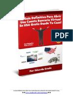 Guia Cuenta Bancaria Virtual en USA