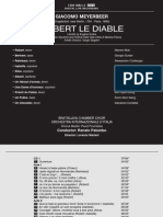 Robert Le Diable Libretto