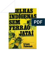 Abelha indigena sem ferrão Jatai