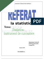 referat-statistica