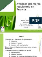 03 Antonin VERGEZ.marco Regulatorio Francia
