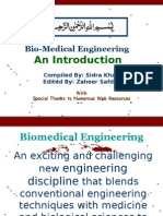 Introdution to biomedical engineering