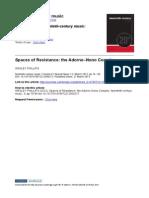 The Adorno–Nono Complex