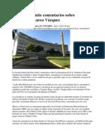 Fiscalía no emite comentarios sobre extradición Aurea Vázquez