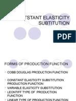 Contstant Elasticity ion
