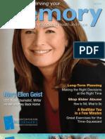 Alzheimer's Magazine - Preserving Your Memory - Fall 09