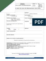 Formato de Censo Inpeluz Cursos Roxana