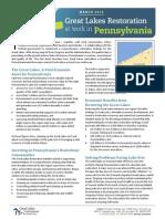 Pennsylvania GLRIStateFactsheet2013 Final Feb28