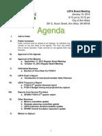 LDFA 01.14.14 Agenda Packet