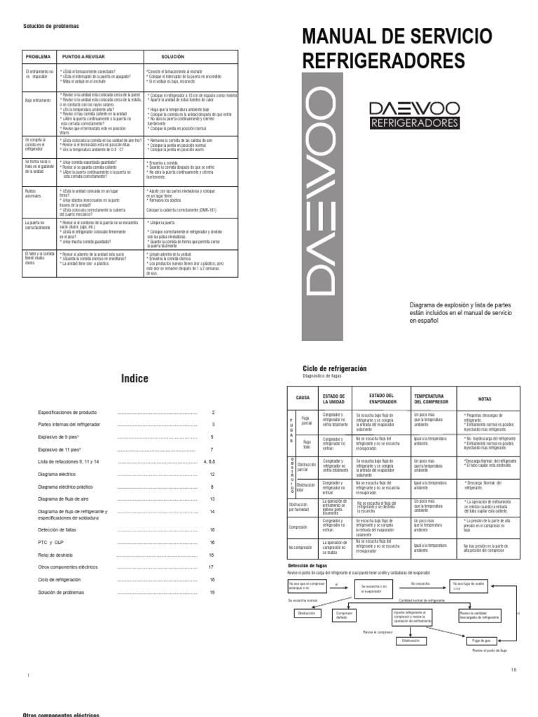 FR-303S Manual Tecnico DAEWOO