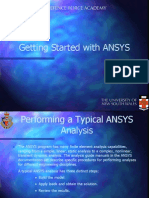 Intro to ANSYS