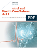 Health Care Cost Monitor Act 1 – The Hastings Center