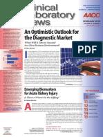 Clinical Laboratory News - Feb 2010