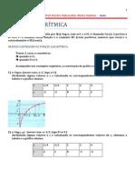 8ª Aula de Cálculo 1 Engenharia de Produção - função Logarítmica_1
