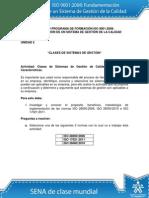 Actividad de Aprendizaje unidad 2 Clases de Sistemas de Gestión MENDIETA