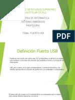 Puerto USB Presentacion