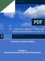 Hazard Assesment Module 9