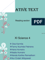 Narrative Bahasa Inggris (Reading)