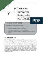 Topik 7 Lukisan Terbantu Komputer (CAD) 2D I