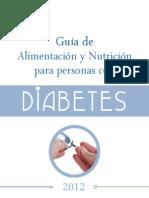 Guia de Alimentacion y Nutricion Diabetes