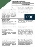 Guión Pentecostés 2013 (2)