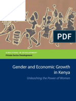 Gender and Economic Growth in Kenya