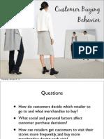 Lesson 6 - Retail Buying Behavior