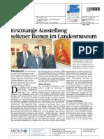 Zeitung Liechtensteiner Volksblatt 27-11-2013.pdf zur Eröffnung und Vernissage der Wemhöner Grabher Sammlung im Liechtensteinischen Landesmuseum