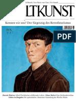 Weltkunst_Dezember2013.pdf Ankündigung Liechtensteinisches Landesmuseum Wemhöner Grabher Sammlung