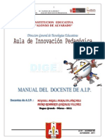 Plan de Trabajo Aip Sm 158 2013