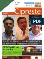 Cipreste 4, Set 2009