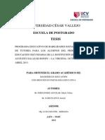 Tesis Habilidades Sociales Vilma Itaniel