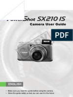 Manual Guide Canon SX210IS