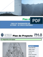 0. Plan Proyecto - Linea Alta Tension