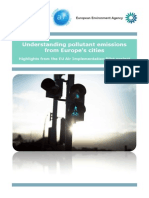 Understanding Pollutant Emissions From Europes Cities