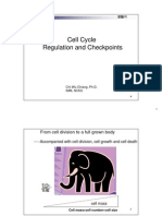 Microsoft PowerPoint - Cell cycle and senescence 30311(蔣輯武老師細胞週期與細胞)