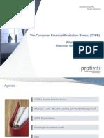 2013-03cfpbupdateforinternalauditorsinfinancialservices-130319085752-phpapp02