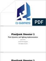 SIGGRAPH 2011 PixelJunk Shooter 2 notes