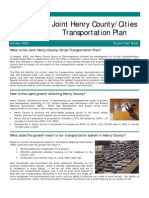 Henry Country Transportation Plan
